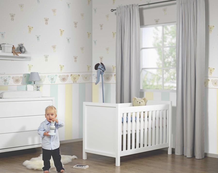 Pok j dla ch opca ewnetrze najlepsze wn trza w sieci - Babyzimmer tapete ...